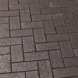 тротуарная клинкерная плитка 609