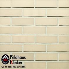 Клинкерный облицовочный кирпич K254 Classic sabioso vivo liso Feldhaus Klinker