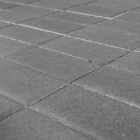 тротуарная плитка Прямоугольник Серый, 200x100x80 мм BRAER