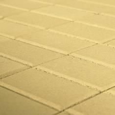 тротуарная плитка Прямоугольник Песочный, 60 мм BRAER