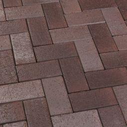 тротуарная клинкерная плитка 409